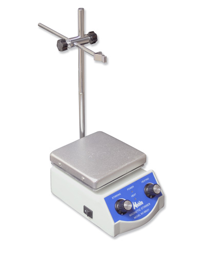 Magnetic stirrer w/heating 690/1