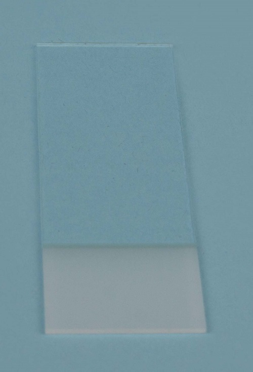 Microscope slides RS cut edge 76x26 mm both sides frosted 20mm, B/50