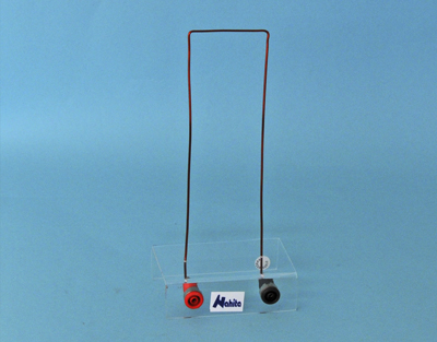 Magnetic field demonstrator, straight